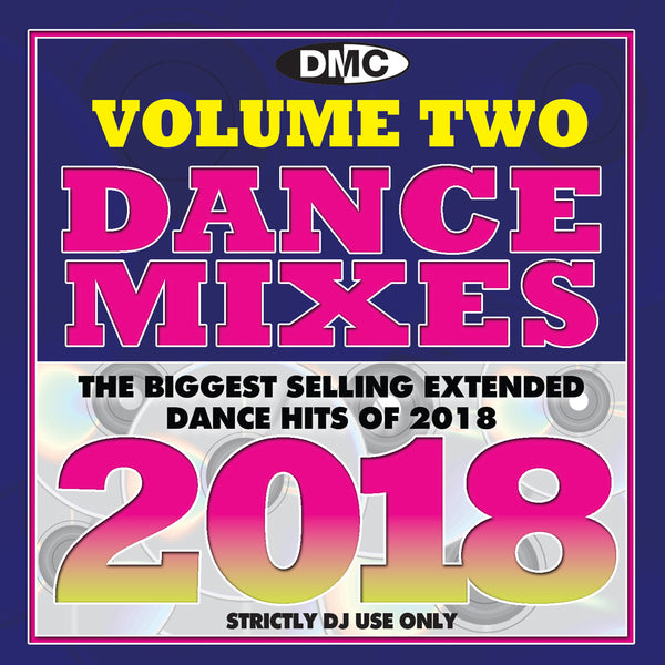 DMC Dance Mixes 2018 Vol 2 - February 2019 release