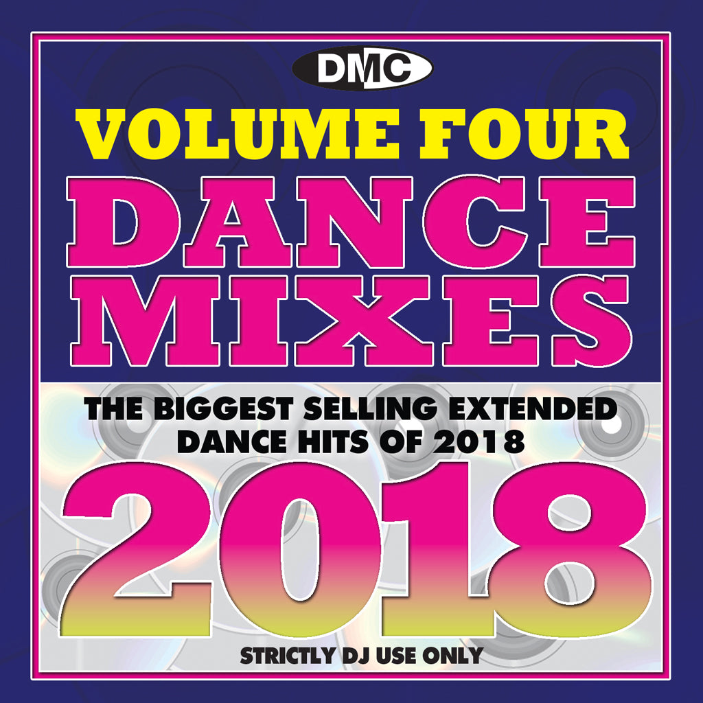 DMC Dance Mixes 2018 Vol 4 - February 2019 release