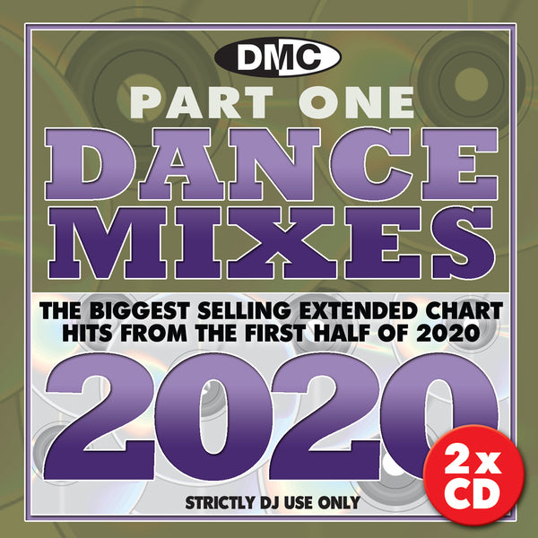 DMC DANCE MIXES 2020 (Part One) - 2 x CD - Mid July 2020 release