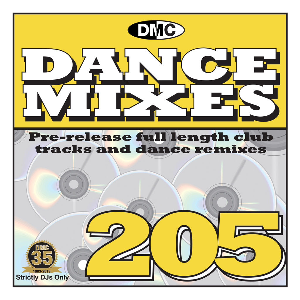 DMC Dance Mixes 205 April mid month