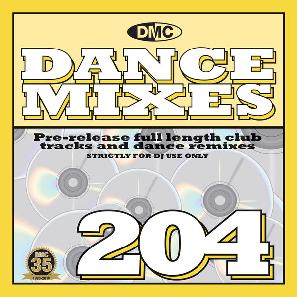 DANCE MIXES 204  - APRIL 2018