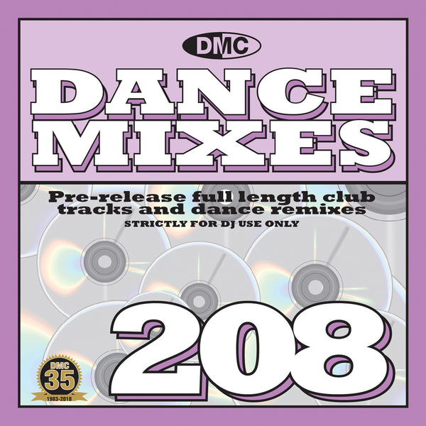 DMC DANCE MIXES 208 - JUNE 2018