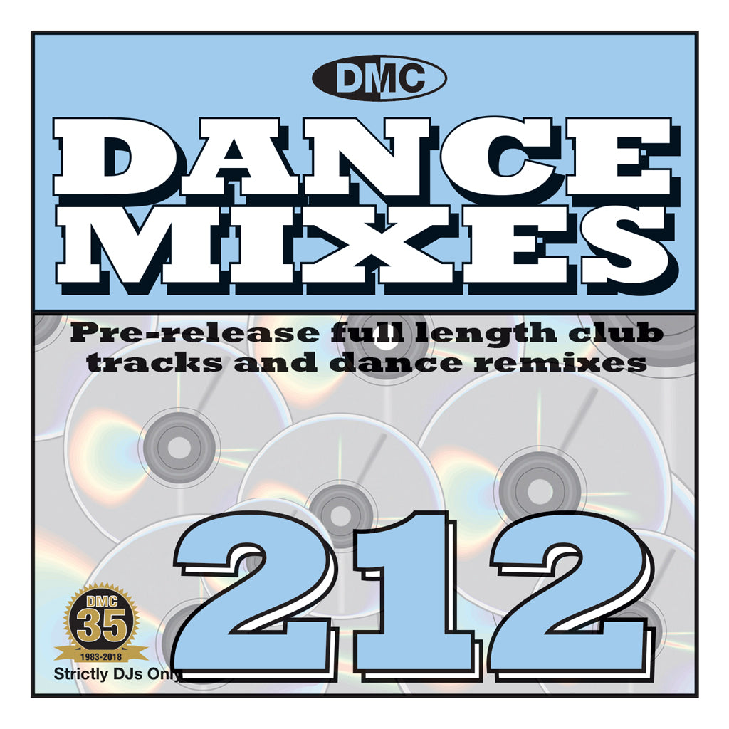 DMC DANCE MIXES 212 - August 2018 - PRE-RELEASE FULL LENGTH CLUB TRACKS AND DANCE REMIXES