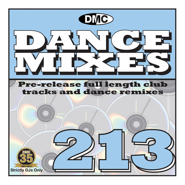 DMC DANCE MIXES 213 - August release