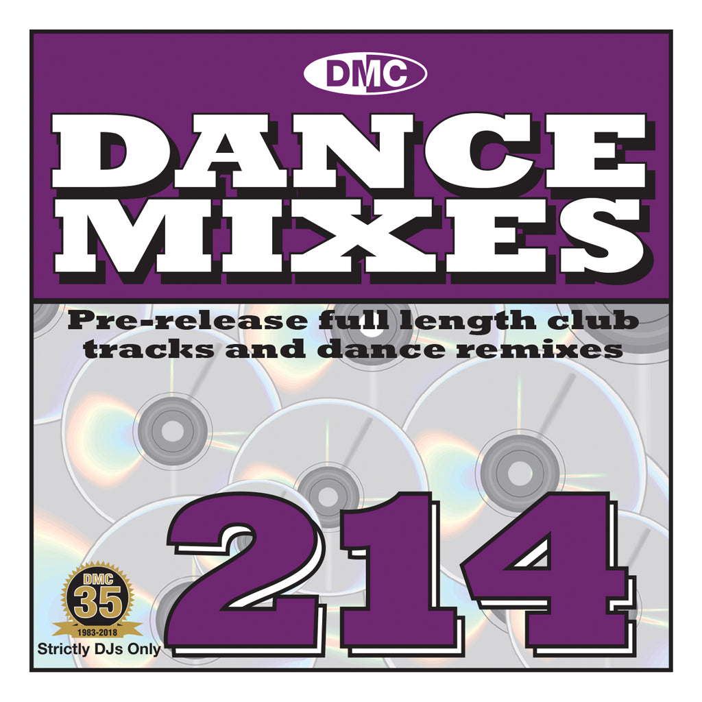 DMC DANCE MIXES 214 - September 2018 release