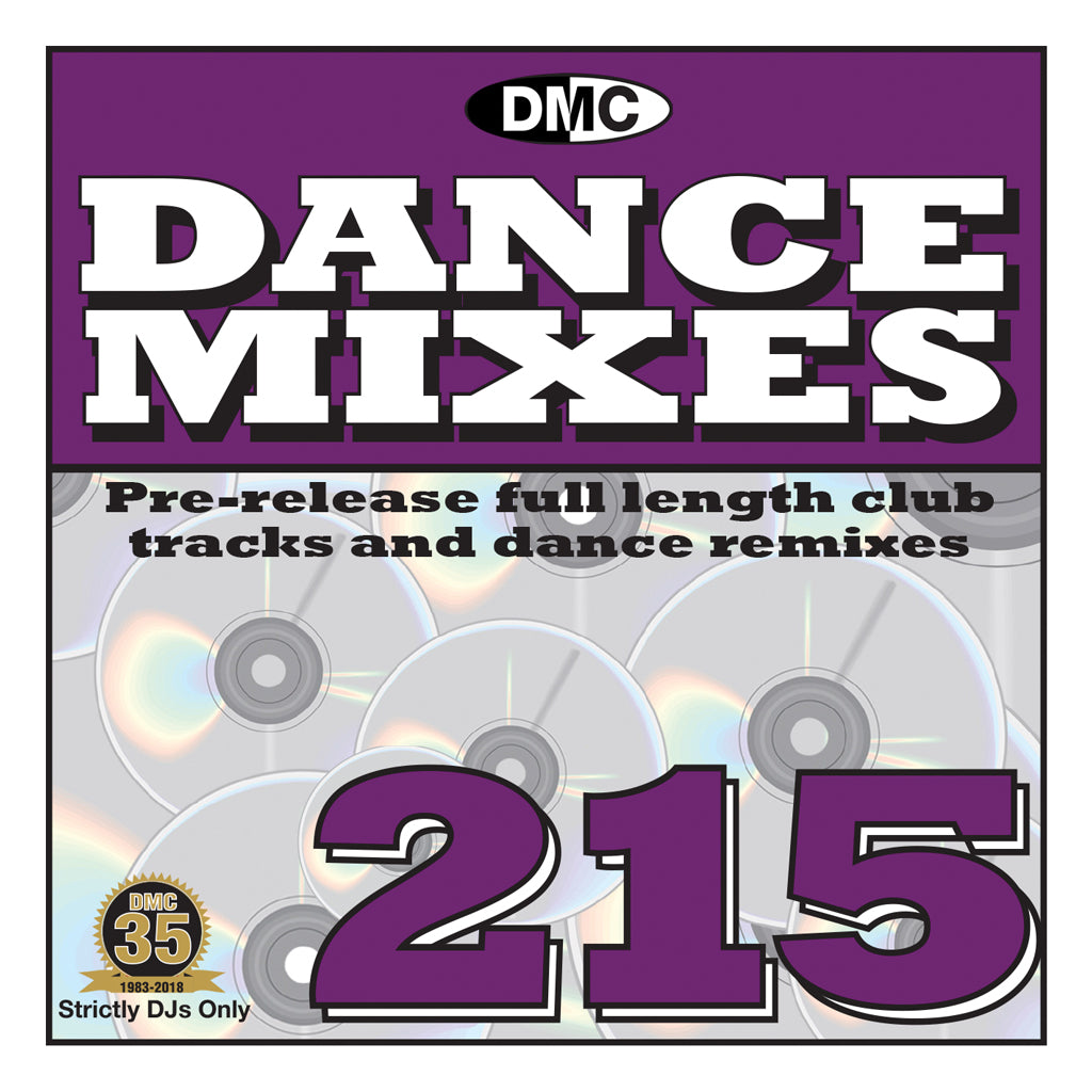 Check Out DMC DANCE MIXES 215 - Mid September release On The DMC Store