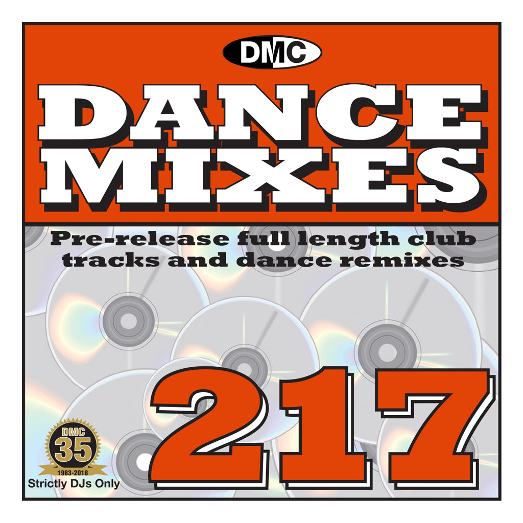 DMC DANCE MIXES 217 - MID OCTOBER RELEASE
