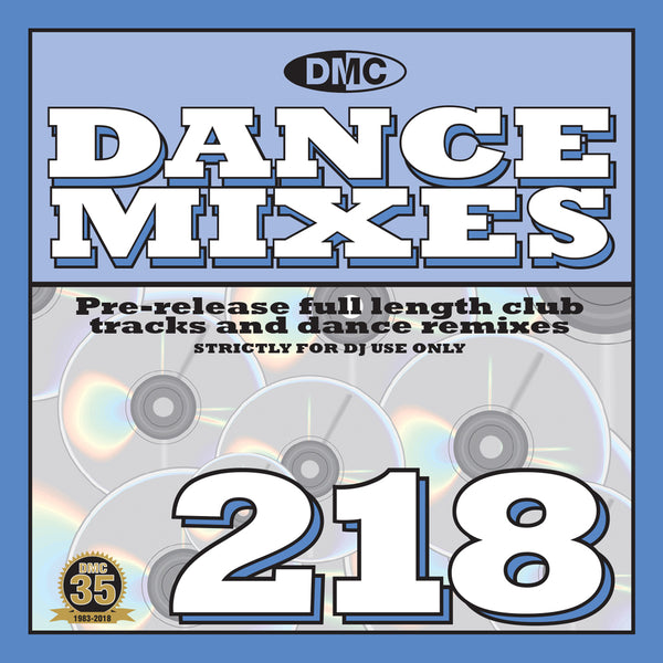 DMC DANCE MIXES 218 - November 2018 release