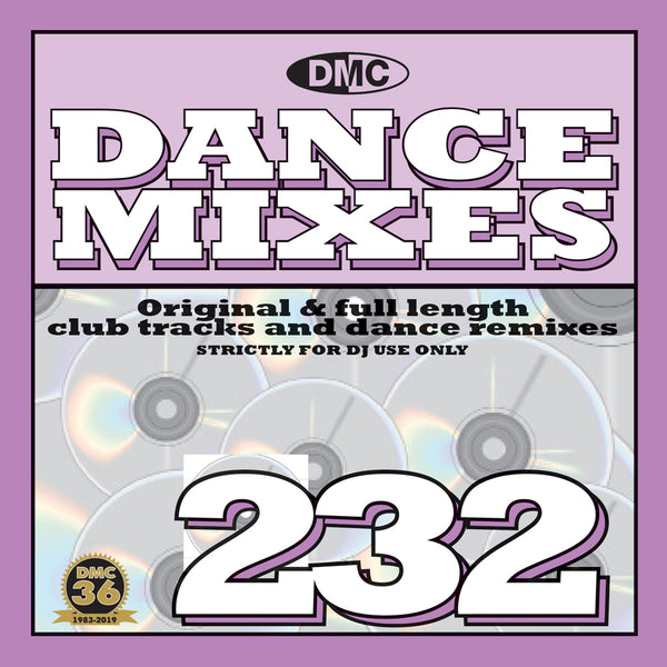 DANCE MIXES 232 - Original & full length club tracks and dance remixes - June 2019 releae