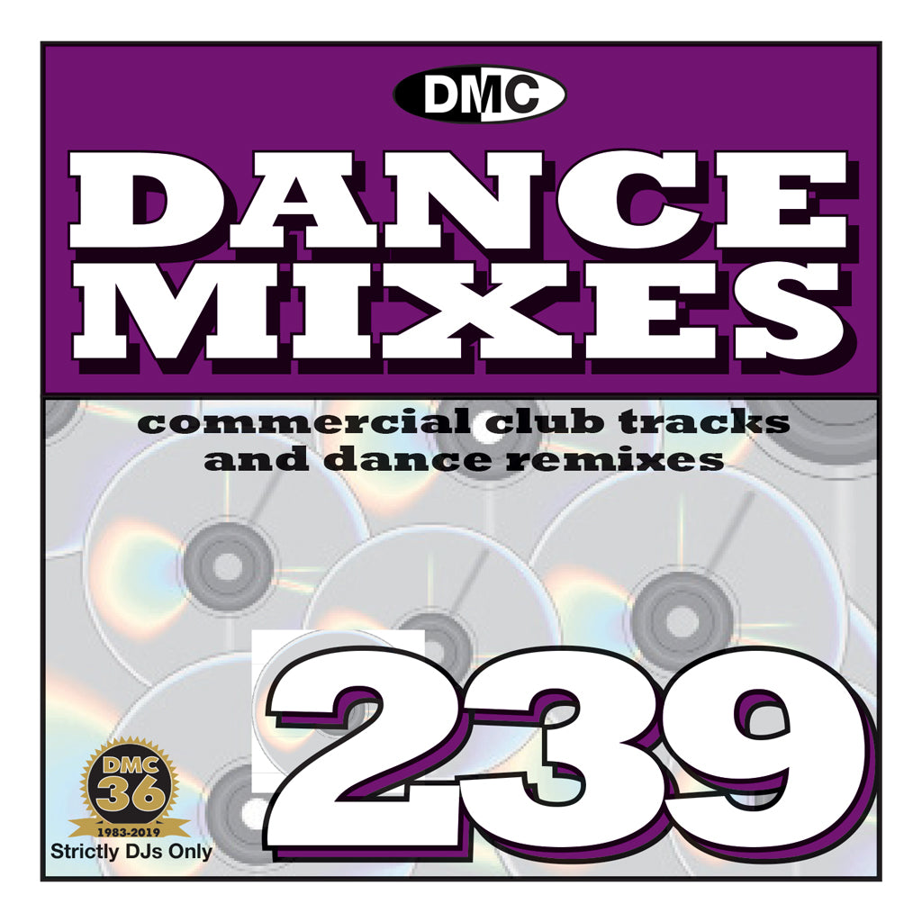Check Out DANCE MIXES 239 (Unmixed) - PRE-RELEASE FULL LENGTH CLUB TRACKS AND DANCE REMIXES - September 2019 On The DMC Store