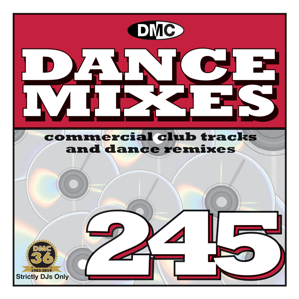 DMC DANCE MIXES 245 - December 2019