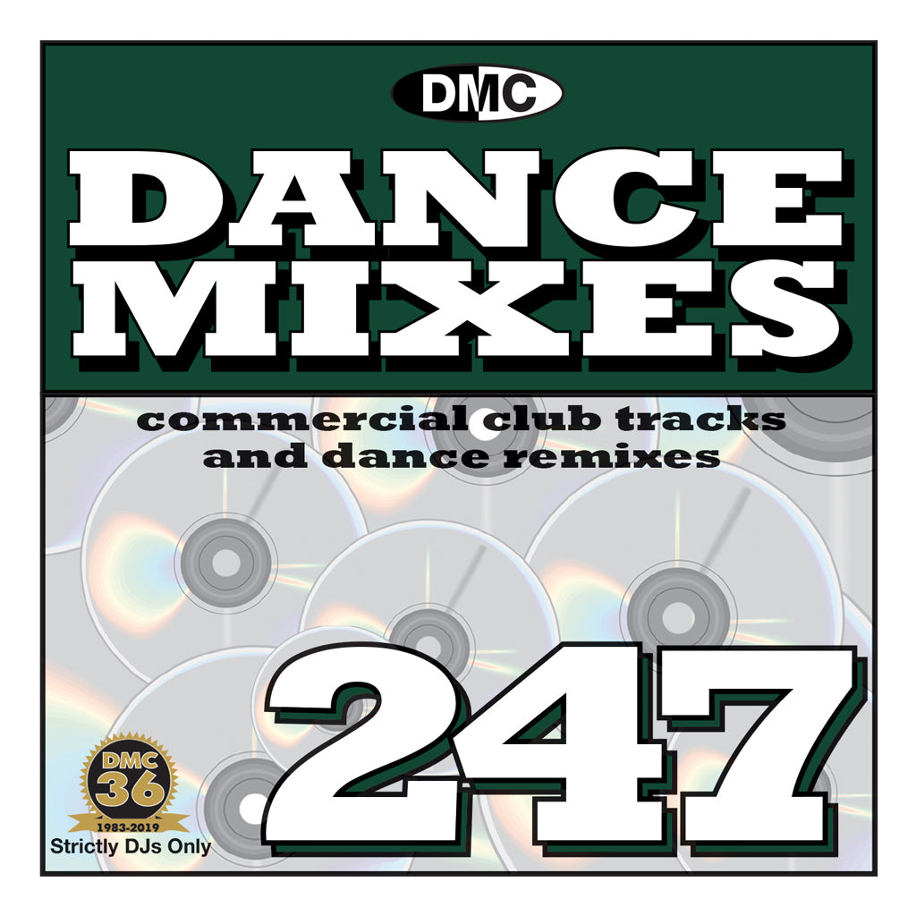 Check Out DMC DANCE MIXES 247 - Mid - January 2020 On The DMC Store