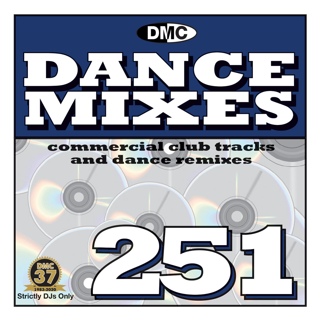 DMC DANCE MIXES 251 - March 2020 release