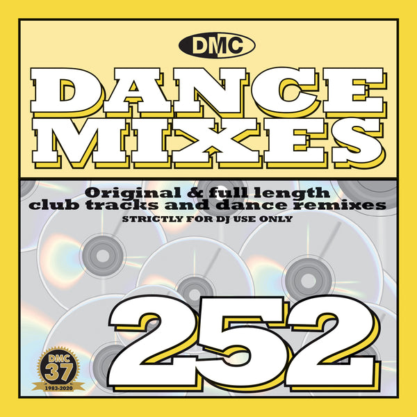 DMC DANCE MIXES 252  - Original & full length club tracks and dance remixes - April 2020 release