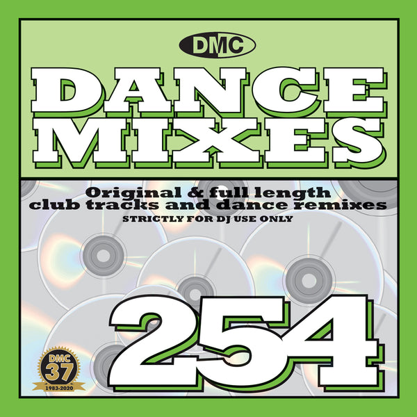 DMC DANCE MIXES 254 - NEW - May 2020 release