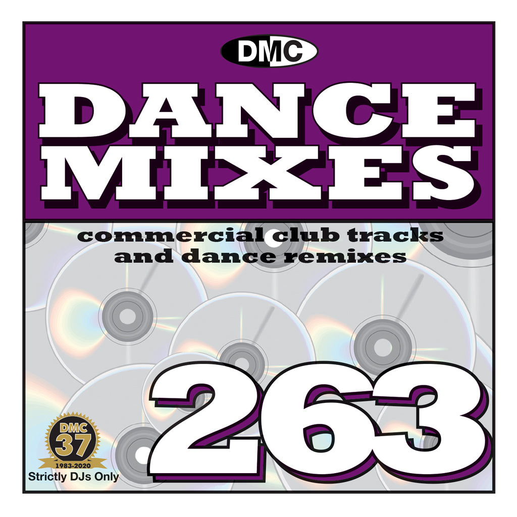 Check Out DMC DANCE MIXES 263 - September 2020 release On The DMC Store