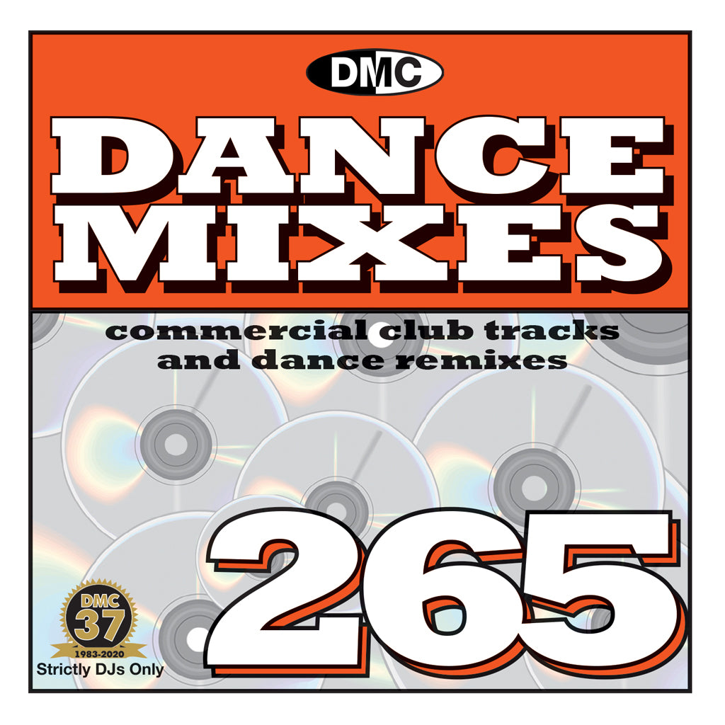Check Out DMC DANCE MIXES 265 - mid October 2020 release On The DMC Store