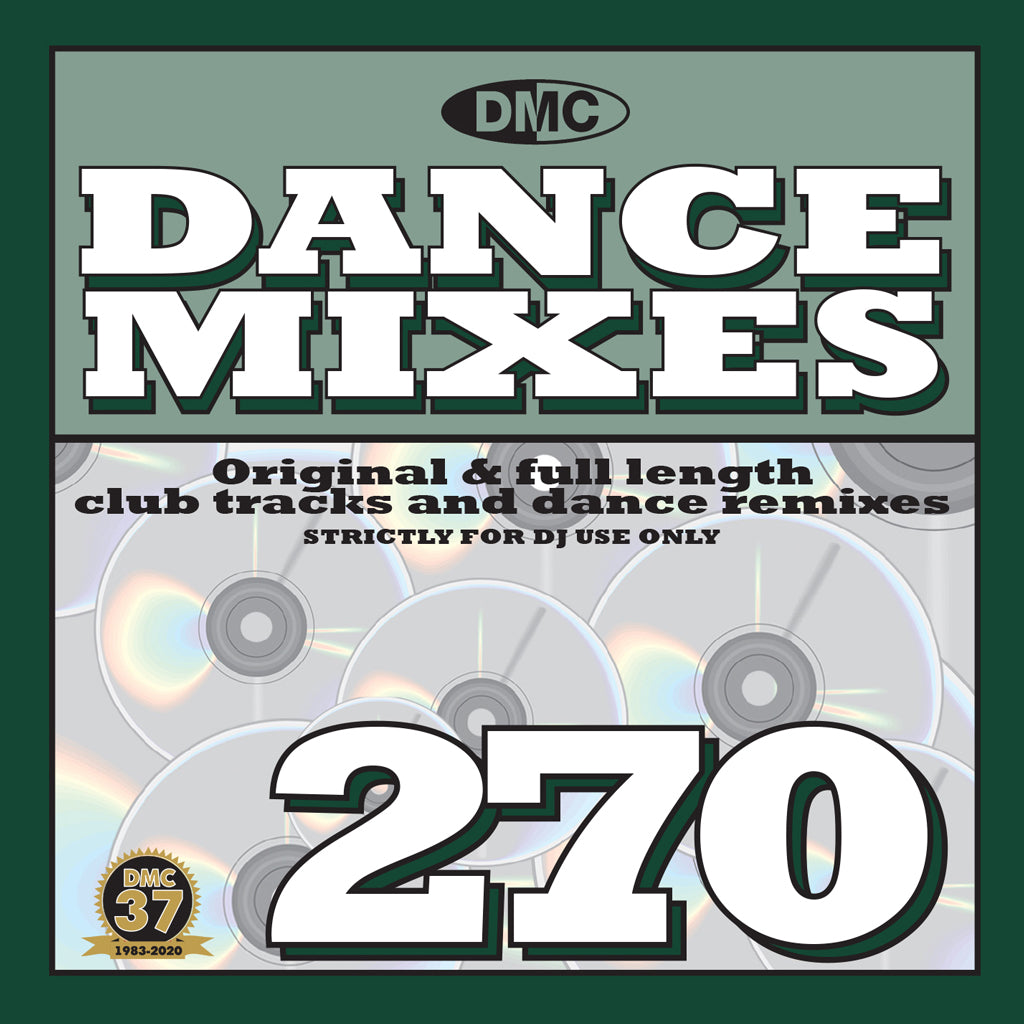 Check Out DMC DANCE MIXES 270 - January 2021 issue  - NEW RELEASE On The DMC Store