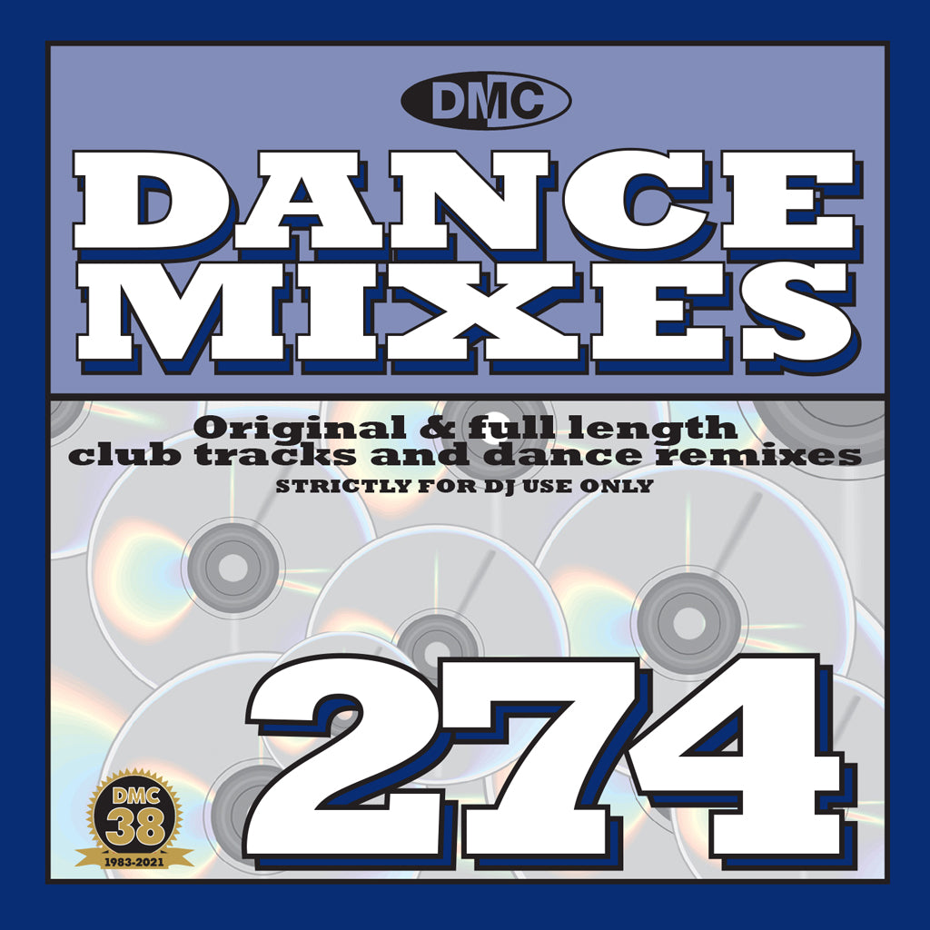 Check Out DMC DANCE MIXES 274 - March 2021 release On The DMC Store