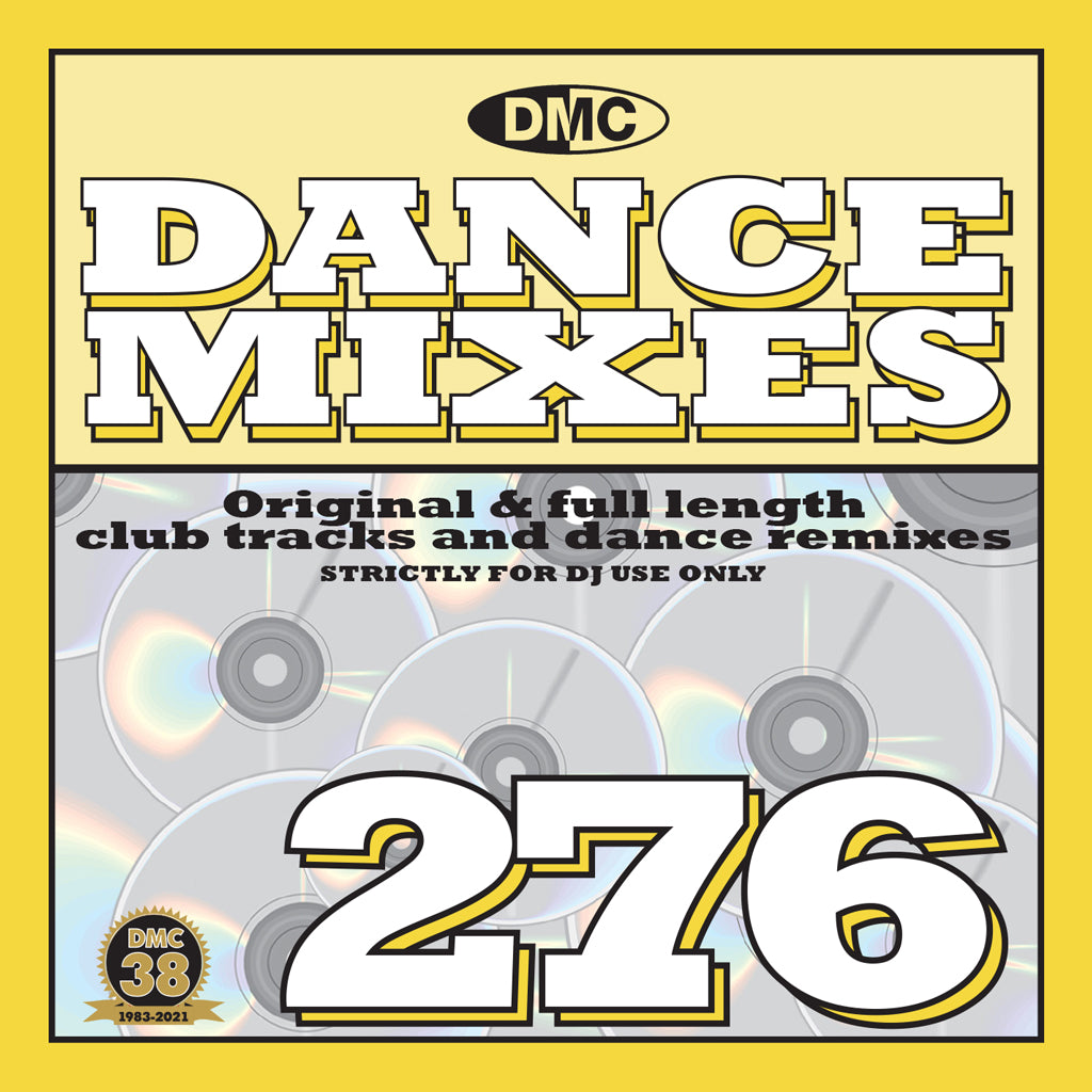 Check Out DMC DANCE MIXES 276 - April 2021 new release On The DMC Store