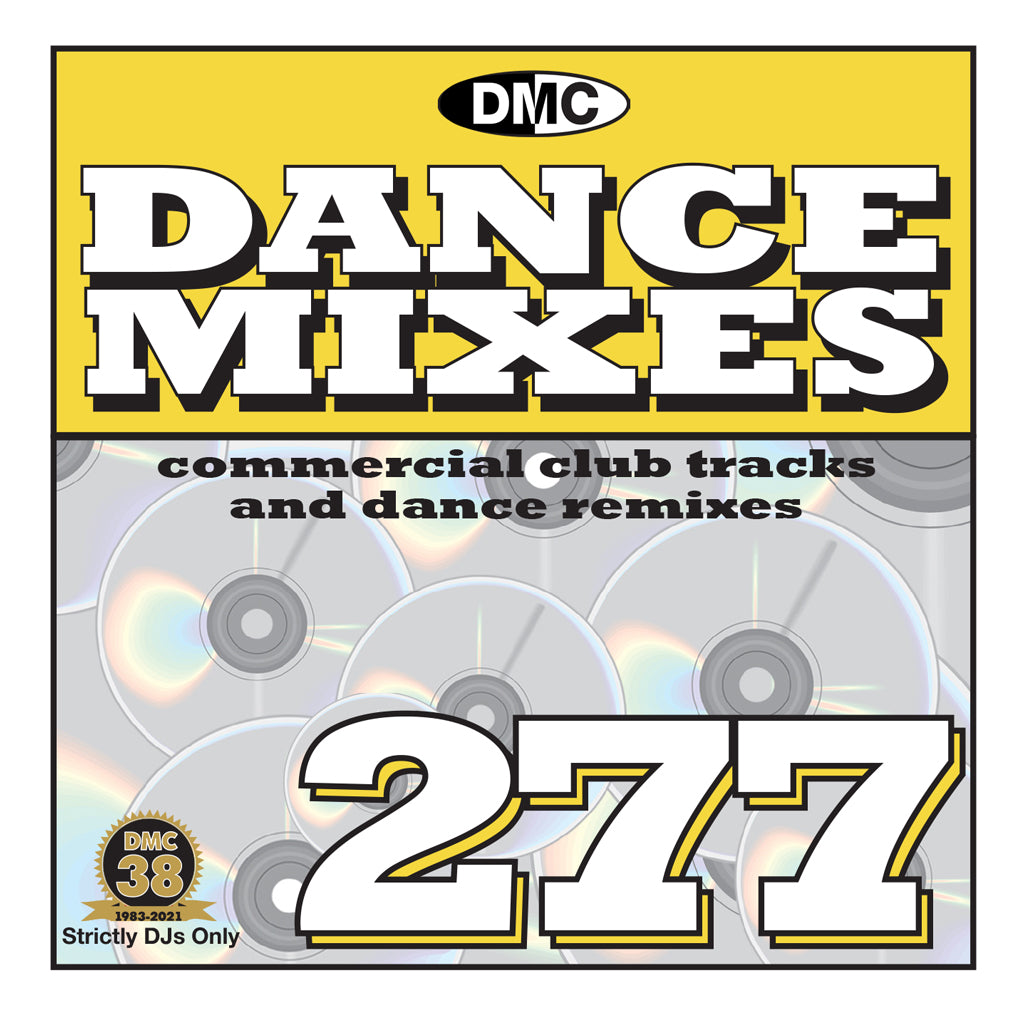 Check Out DMC DANCE MIXES 277 - mid April 2021 release On The DMC Store