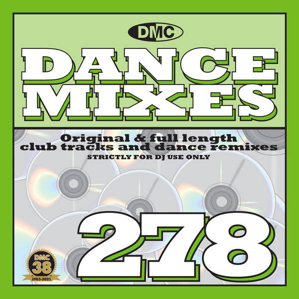 DMC Dance Mixes 278 - May 2021 release
