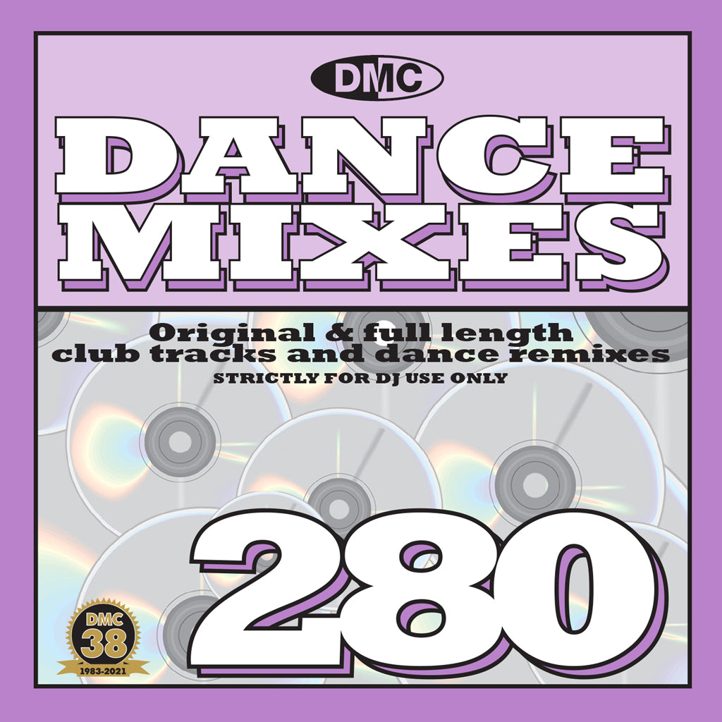 Check Out DMC Dance Mixes 280 - June 2021 On The DMC Store