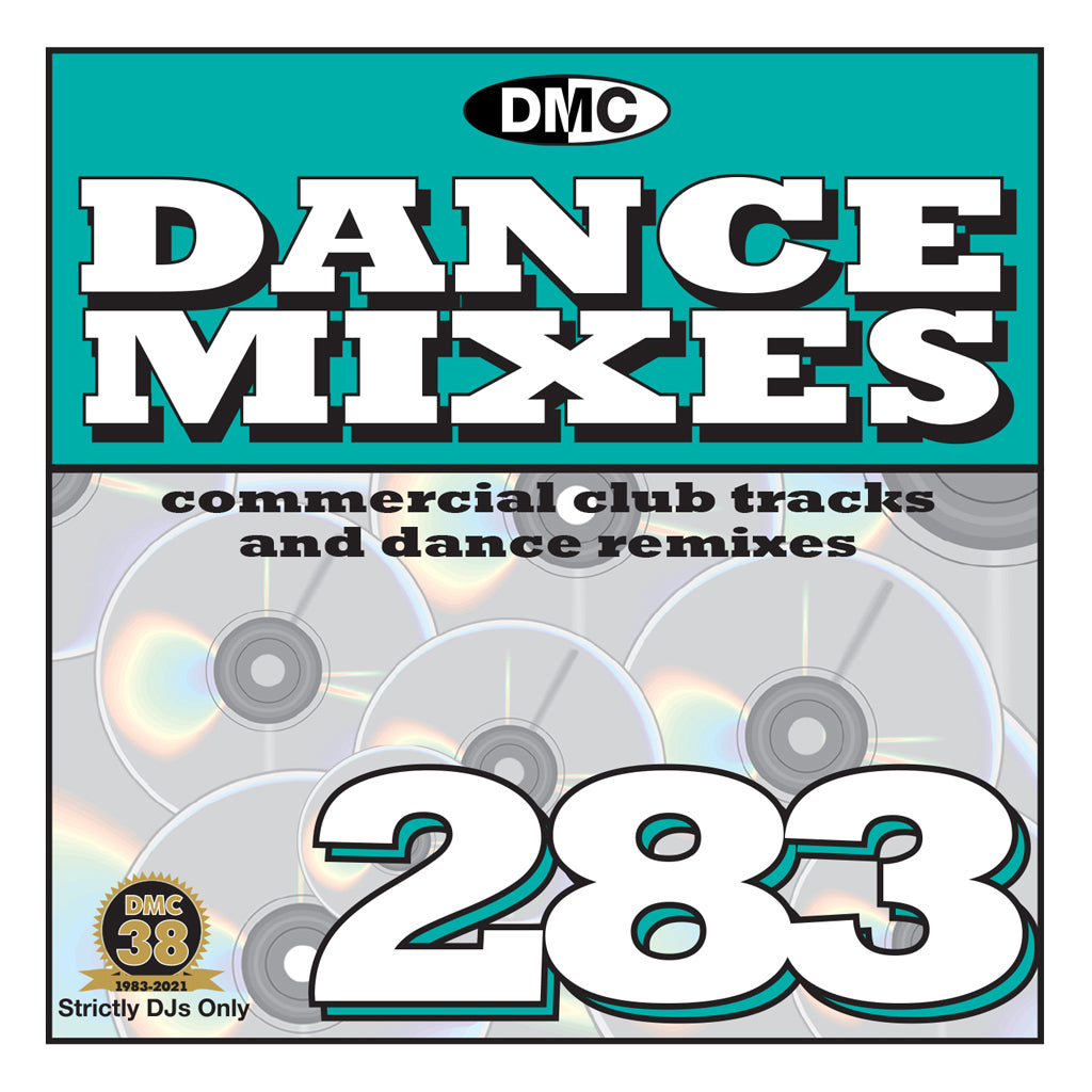 Check Out DMC DANCE MIXES 283 - July release On The DMC Store