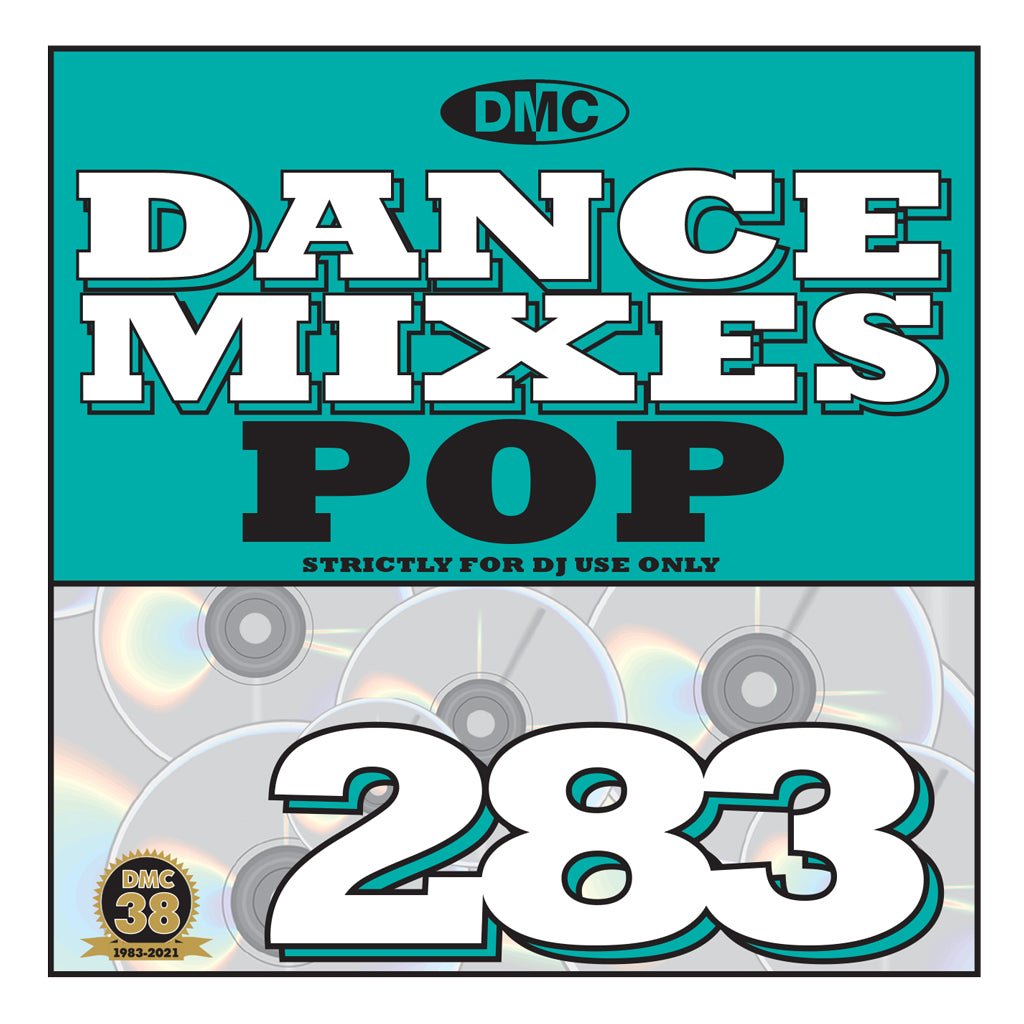 Check Out DMC DANCE MIXES 283 POP - July 2021 release On The DMC Store