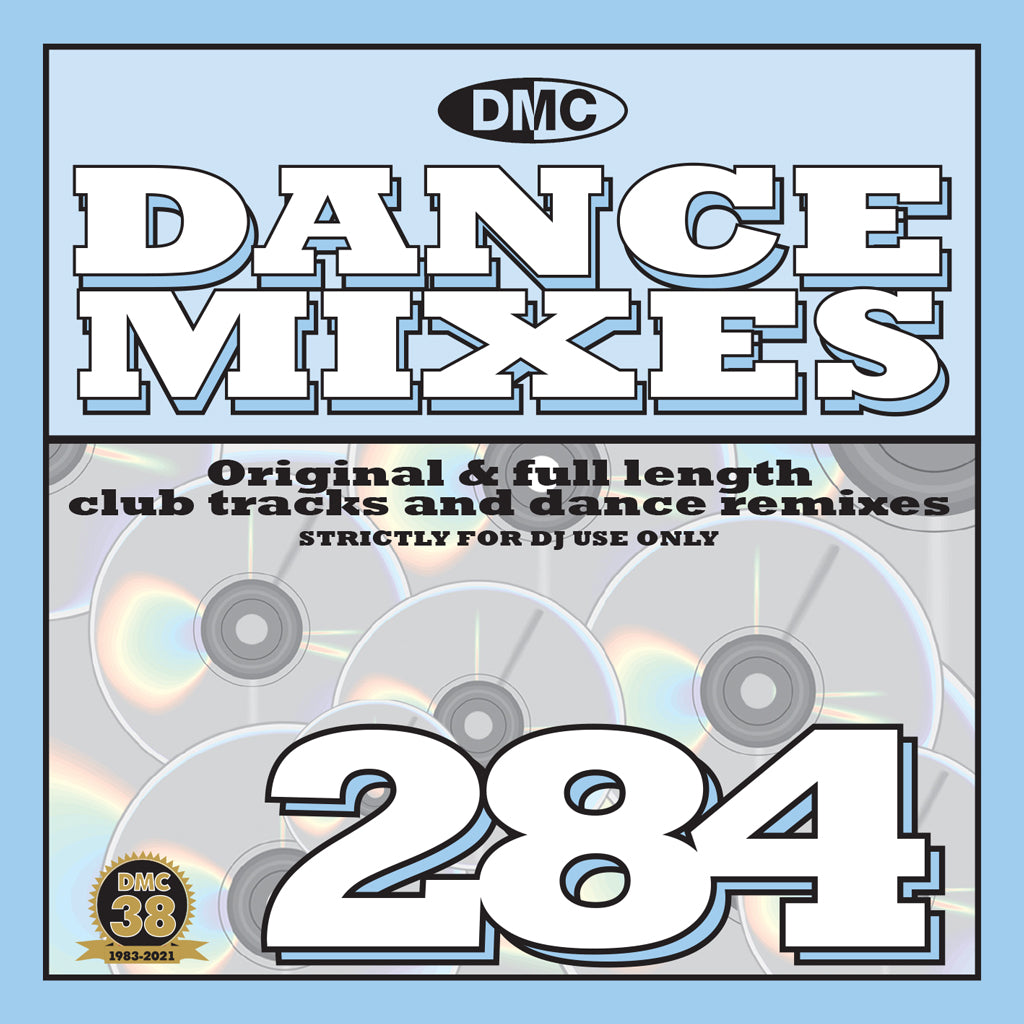 Check Out DMC DANCE MIXES 284 - August 2021 release - out now On The DMC Store