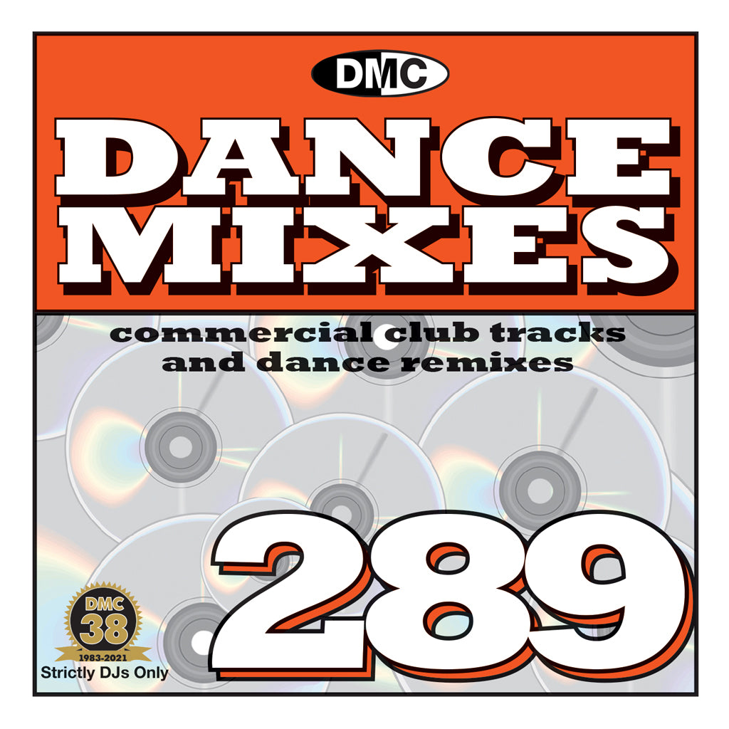 Check Out DMC DANCE MIXES 289 - mid October 2021 release On The DMC Store