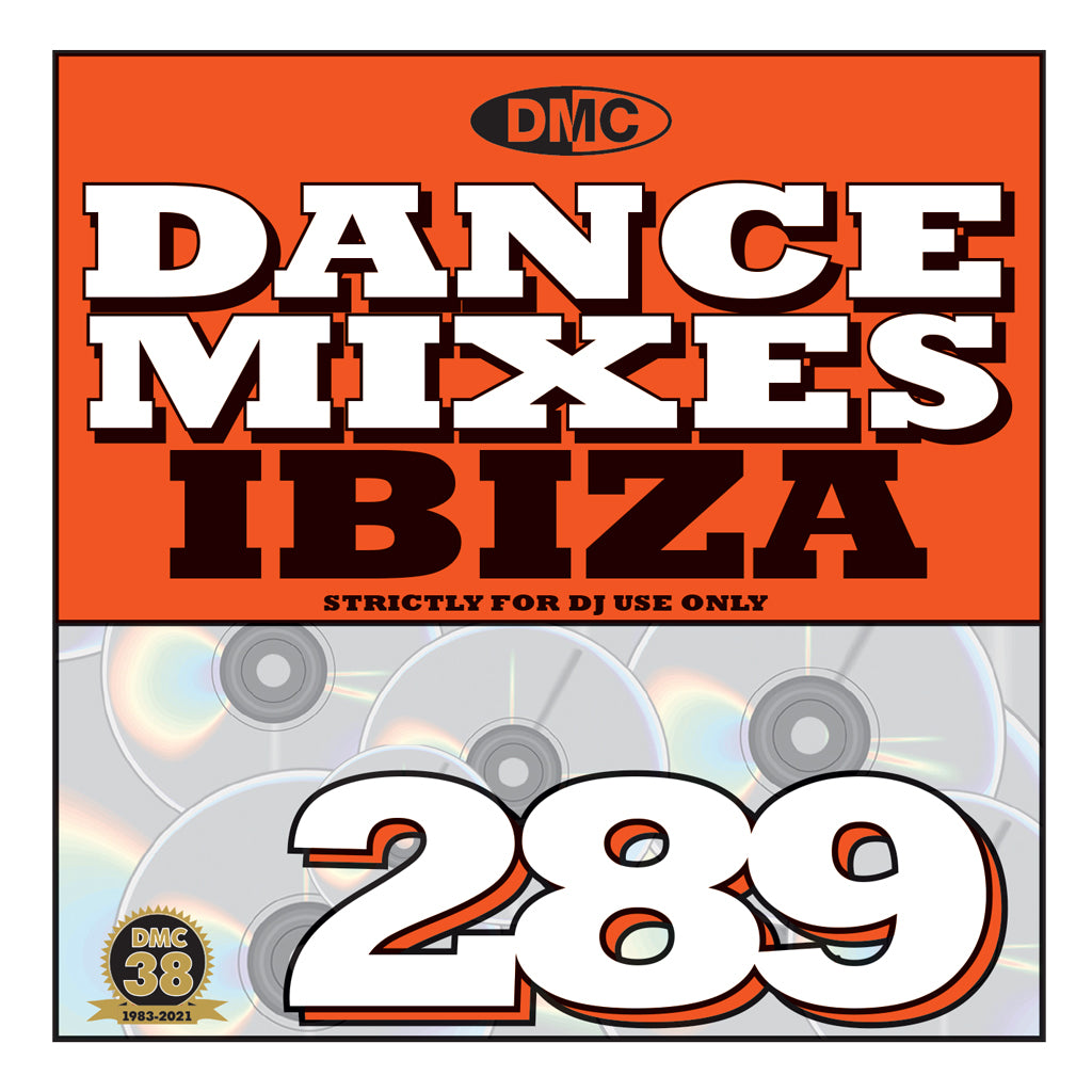 Check Out DMC DANCE MIXES 289 IBIZA - mid October 2021 release On The DMC Store