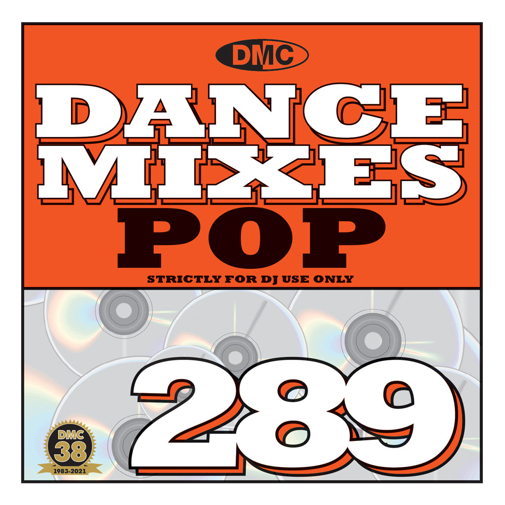 Check Out DMC DANCE MIXES 289 POP - mid October 2021 release On The DMC Store