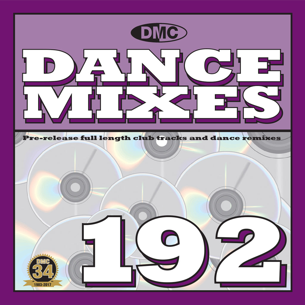 DMC DANCE MIXES 192  Full length club tracks and dance remixes for professional djs