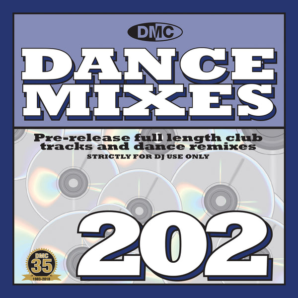 DMC DANCE MIXES 202     PRE-RELEASE FULL LENGTH CLUB TRACKS AND DANCE REMIXES - March 2018