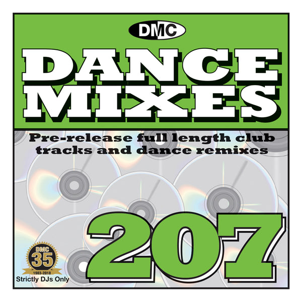 DMC DANCE MIXES 207 - MAY 2018