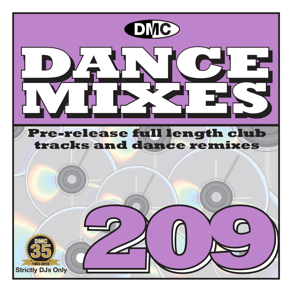 DMC DANCE MIXES 209 - mid June release