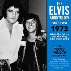 The Elvis Radio Triology (4 x cd) Collector's Edition Original recording remastered -Tony Prince's Most Amazing Interviews on 4 CDs