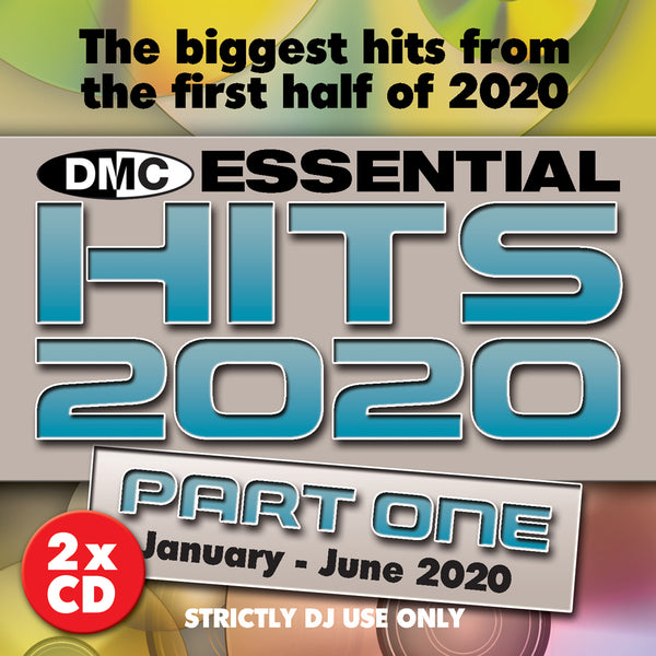 DMC ESSENTIAL HITS 2020 (Part One) - 2 x CD - Mid July 2020 release