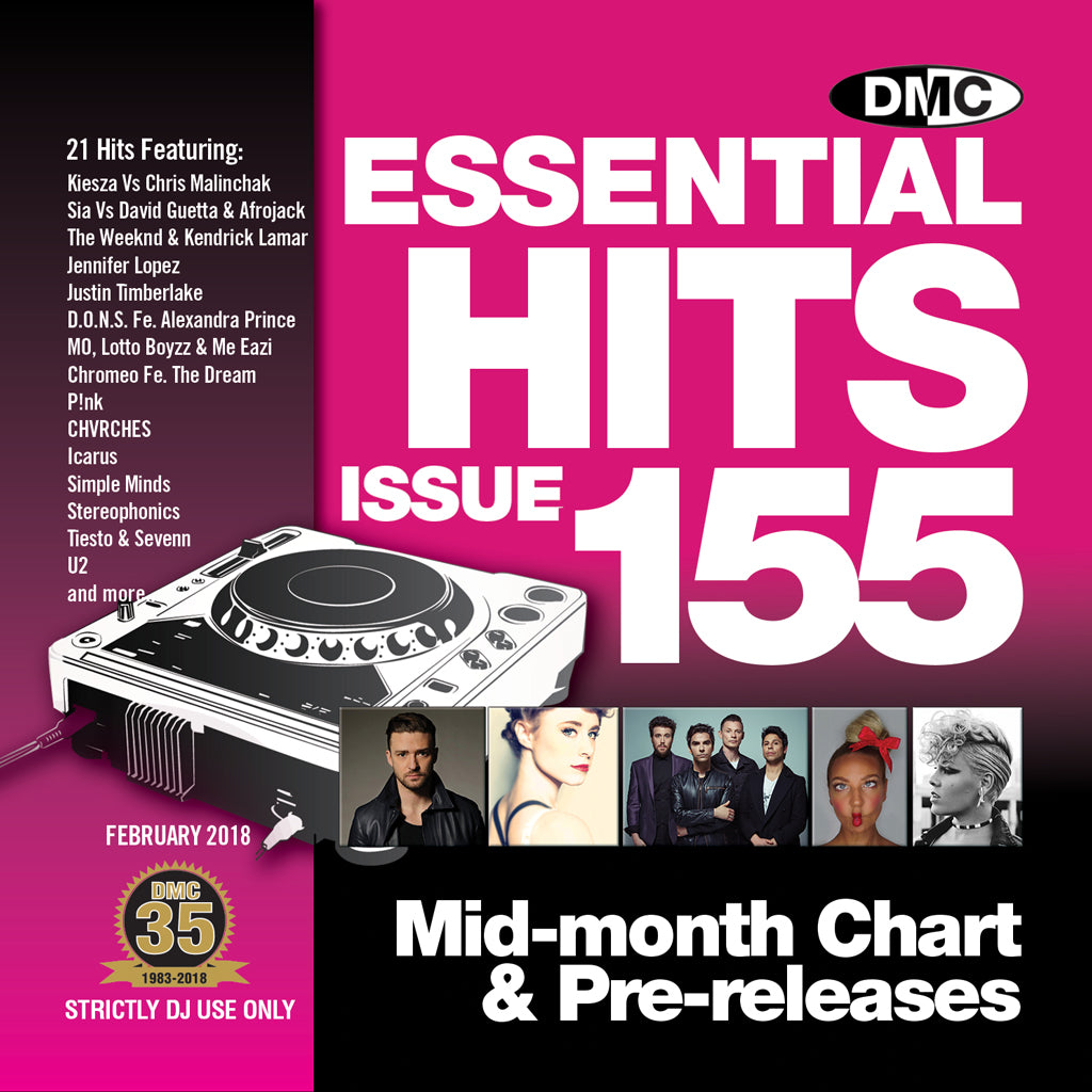 DMC ESSENTIAL HITS 155 - Mid-February release