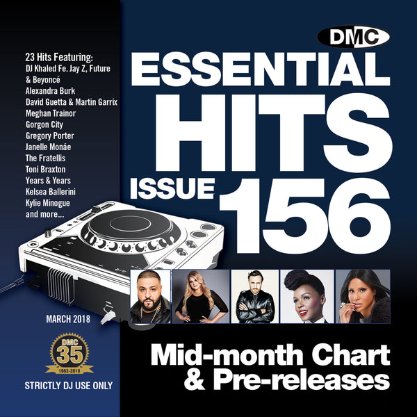 DMC Essential Hits 156 - Mid March 2018