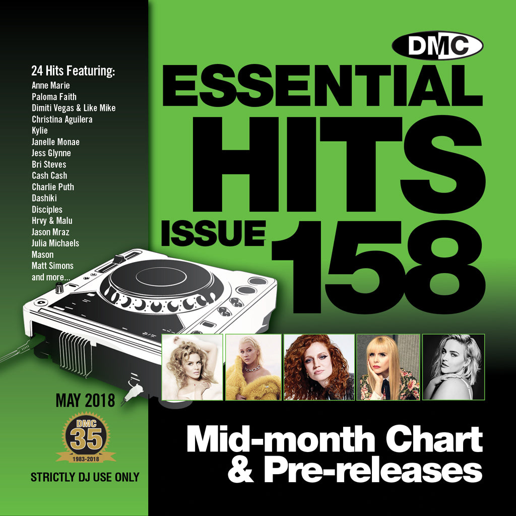 DMC Essential Hits 158 - Mid May 2018 release