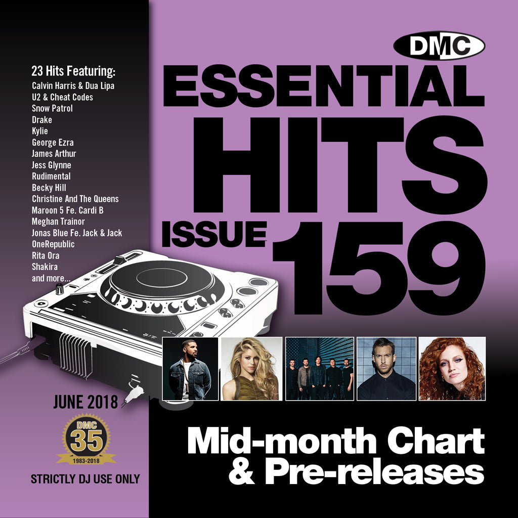 DMC Essential Hits 159 - mid June release