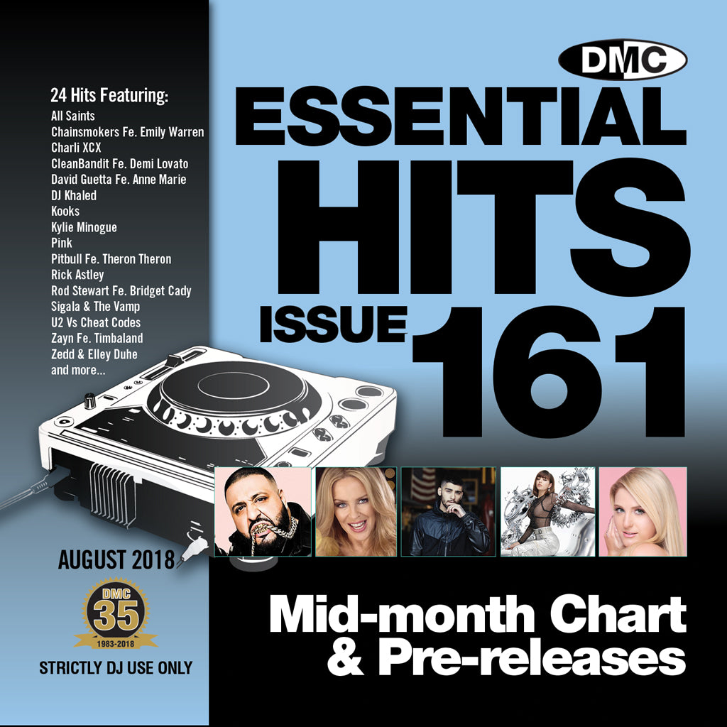 DMC ESSENTIAL HITS 161 - August 2018 release