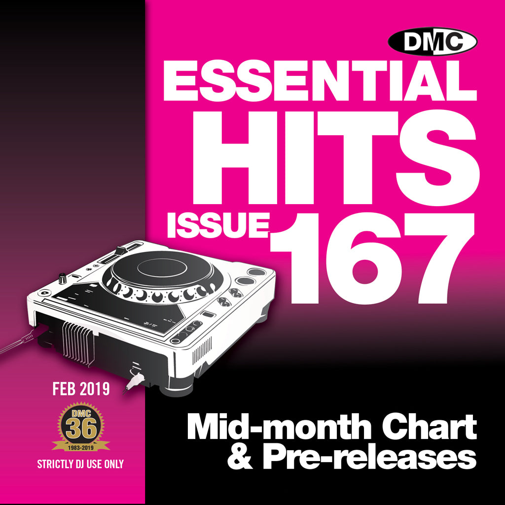 Check Out DMC ESSENTIAL HITS 167 - February 2019  release On The DMC Store