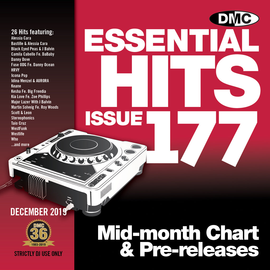 DMC ESSENTIAL HITS 177 - December 2019 release