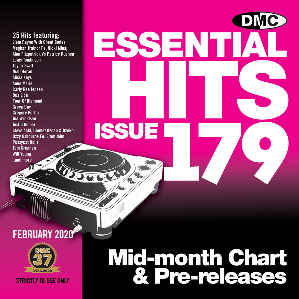 DMC ESSENTIAL HITS 179 - February 2020 release