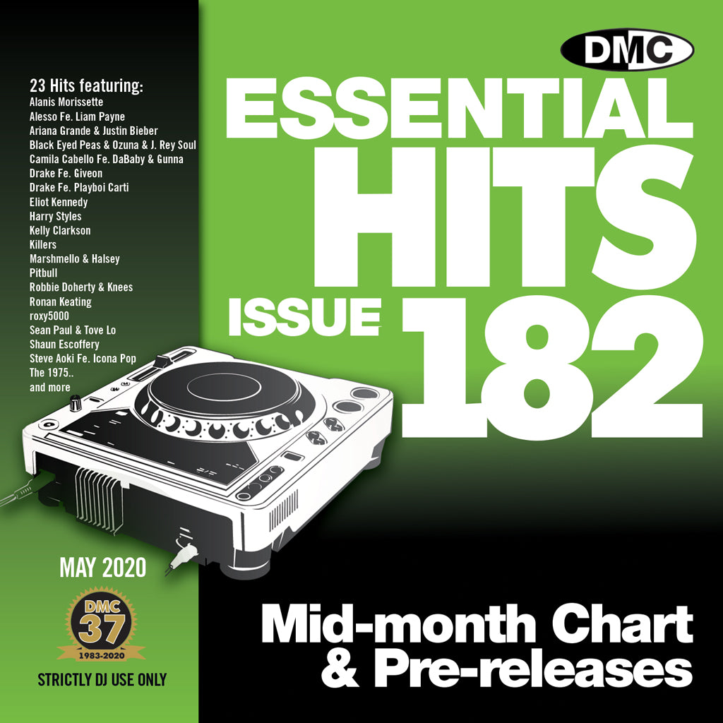 Check Out DMC ESSENTIAL HITS 182 - May 2020 release On The DMC Store