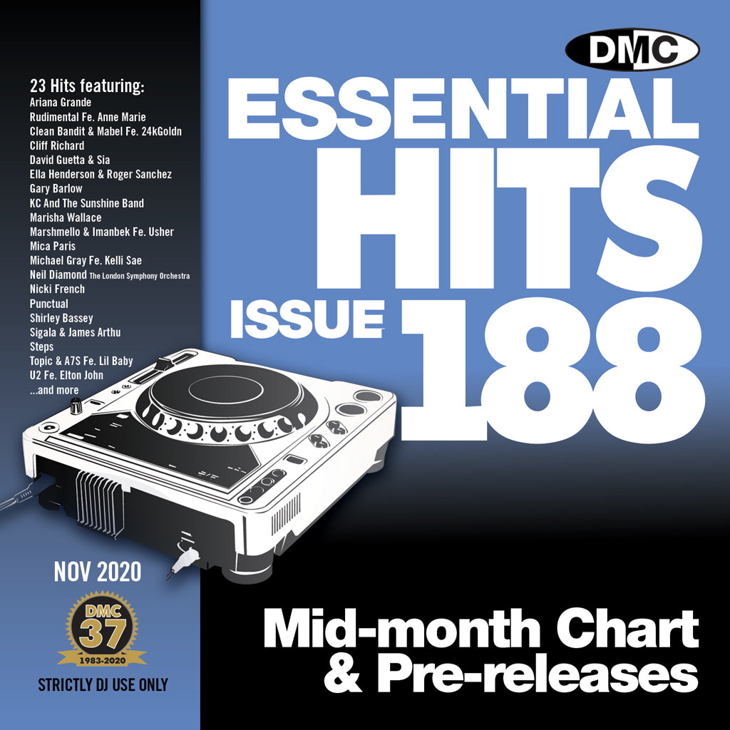 DMC ESSENTIAL HITS 188 - November 2020 release
