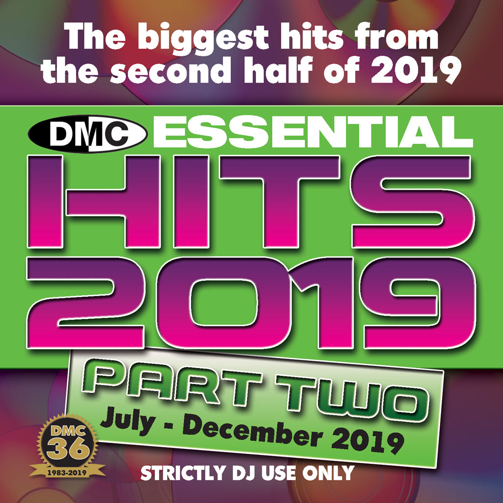 DMC ESSENTIAL HITS 2019 - Part 2 - January 2020 release